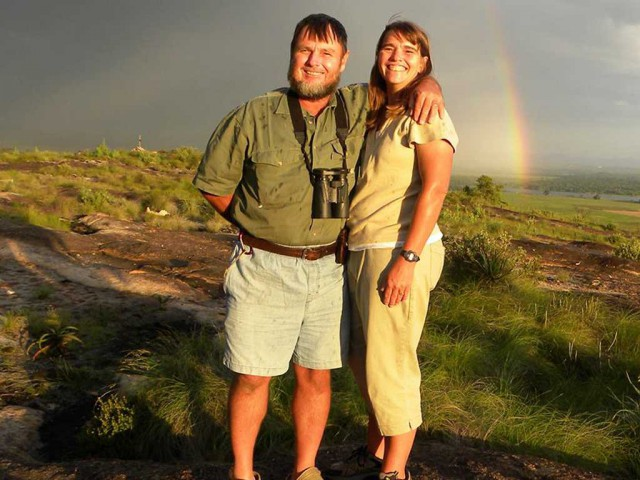 Gordon & Debbie Putterill – taking up the conservation baton